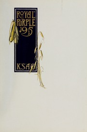 Page 5, 1915 Edition, Kansas State University - Royal Purple Yearbook (Manhattan, KS) online yearbook collection