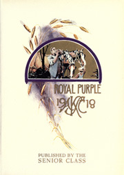 Page 13, 1918 Edition, Kansas State University - Royal Purple Yearbook (Manhattan, KS) online yearbook collection