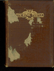 1920 Edition, Kansas State University - Royal Purple Yearbook (Manhattan, KS)