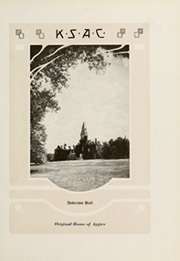 Page 15, 1921 Edition, Kansas State University - Royal Purple Yearbook (Manhattan, KS) online yearbook collection