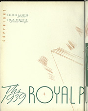 Page 8, 1939 Edition, Kansas State University - Royal Purple Yearbook (Manhattan, KS) online yearbook collection