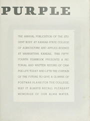 Page 7, 1945 Edition, Kansas State University - Royal Purple Yearbook (Manhattan, KS) online yearbook collection