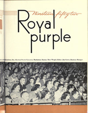 Page 7, 1952 Edition, Kansas State University - Royal Purple Yearbook (Manhattan, KS) online yearbook collection
