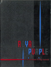 1957 Edition, Kansas State University - Royal Purple Yearbook (Manhattan, KS)