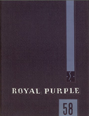 1958 Edition, Kansas State University - Royal Purple Yearbook (Manhattan, KS)