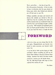 Page 8, 1958 Edition, Kansas State University - Royal Purple Yearbook (Manhattan, KS) online yearbook collection