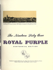 Page 7, 1963 Edition, Kansas State University - Royal Purple Yearbook (Manhattan, KS) online yearbook collection