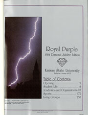 Page 5, 1984 Edition, Kansas State University - Royal Purple Yearbook (Manhattan, KS) online yearbook collection