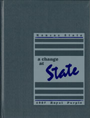 Kansas State University - Royal Purple Yearbook (Manhattan, KS) online yearbook collection, 1987 Edition, Page 1