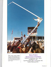 Page 3, 1992 Edition, Kansas State University - Royal Purple Yearbook (Manhattan, KS) online yearbook collection