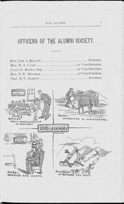 Page 9, 1886 Edition, University of Georgia - Pandora Yearbook (Athens, GA) online yearbook collection