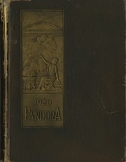 University of Georgia - Pandora Yearbook (Athens, GA) online yearbook collection, 1920 Edition, Page 1