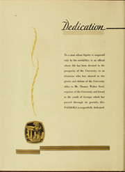 Page 10, 1932 Edition, University of Georgia - Pandora Yearbook (Athens, GA) online yearbook collection
