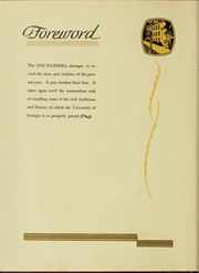 Page 12, 1932 Edition, University of Georgia - Pandora Yearbook (Athens, GA) online yearbook collection