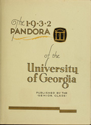 Page 9, 1932 Edition, University of Georgia - Pandora Yearbook (Athens, GA) online yearbook collection
