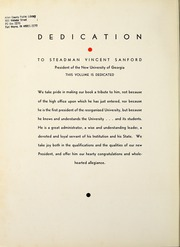 Page 10, 1933 Edition, University of Georgia - Pandora Yearbook (Athens, GA) online yearbook collection