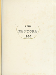 Page 5, 1937 Edition, University of Georgia - Pandora Yearbook (Athens, GA) online yearbook collection