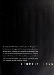 Page 7, 1956 Edition, University of Georgia - Pandora Yearbook (Athens, GA) online yearbook collection