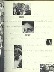 Page 13, 1960 Edition, University of Georgia - Pandora Yearbook (Athens, GA) online yearbook collection