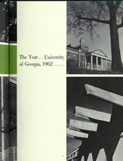 Page 11, 1962 Edition, University of Georgia - Pandora Yearbook (Athens, GA) online yearbook collection