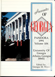 Page 5, 1991 Edition, University of Georgia - Pandora Yearbook (Athens, GA) online yearbook collection
