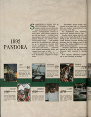 Page 2, 1992 Edition, University of Georgia - Pandora Yearbook (Athens, GA) online yearbook collection