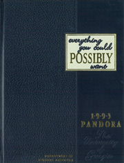 1993 Edition, University of Georgia - Pandora Yearbook (Athens, GA)