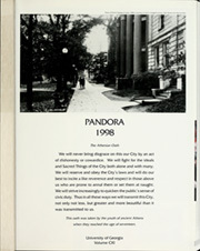 Page 5, 1998 Edition, University of Georgia - Pandora Yearbook (Athens, GA) online yearbook collection