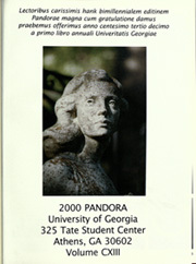 Page 5, 2000 Edition, University of Georgia - Pandora Yearbook (Athens, GA) online yearbook collection