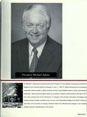 Page 9, 2000 Edition, University of Georgia - Pandora Yearbook (Athens, GA) online yearbook collection