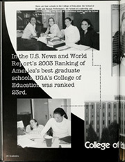 Page 44, 2003 Edition, University of Georgia - Pandora Yearbook (Athens, GA) online yearbook collection
