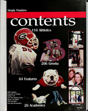 Page 5, 2003 Edition, University of Georgia - Pandora Yearbook (Athens, GA) online yearbook collection