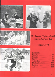 Page 17, 1976 Edition, Saint Louis High School - Spectre Yearbook (Lake Charles, LA) online yearbook collection