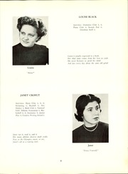 Page 15, 1954 Edition, Linz American High School - Danubian Yearbook (Linz, Austria) online yearbook collection