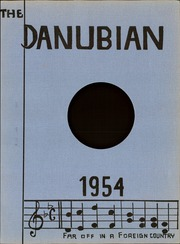 Page 5, 1954 Edition, Linz American High School - Danubian Yearbook (Linz, Austria) online yearbook collection