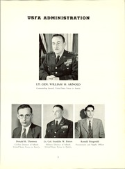 Page 9, 1954 Edition, Linz American High School - Danubian Yearbook (Linz, Austria) online yearbook collection
