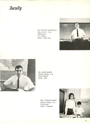 Page 15, 1968 Edition, Wesleyan Academy - El Bambu Yearbook (San Juan, Puerto Rico) online yearbook collection