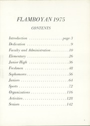 Page 7, 1975 Edition, Robinson School - Flamboyan Yearbook (Santurce, Puerto Rico) online yearbook collection