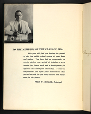 Page 12, 1936 Edition, Balboa High School - Zonian Yearbook (Balboa, Canal Zone Panama) online yearbook collection