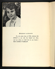 Page 8, 1936 Edition, Balboa High School - Zonian Yearbook (Balboa, Canal Zone Panama) online yearbook collection