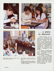 Page 12, 1985 Edition, Saudi Arabian International School - Bedouin Yearbook (Riyadh, Saudi Arabia) online yearbook collection