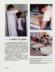 Page 16, 1985 Edition, Saudi Arabian International School - Bedouin Yearbook (Riyadh, Saudi Arabia) online yearbook collection