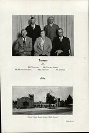 Page 11, 1934 Edition, Ripon High School - Mission Yearbook (Ripon, CA) online yearbook collection