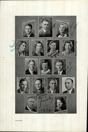 Page 12, 1934 Edition, Ripon High School - Mission Yearbook (Ripon, CA) online yearbook collection