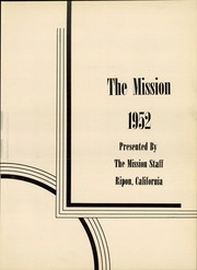 Page 7, 1952 Edition, Ripon High School - Mission Yearbook (Ripon, CA) online yearbook collection
