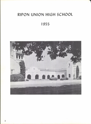 Page 6, 1955 Edition, Ripon High School - Mission Yearbook (Ripon, CA) online yearbook collection