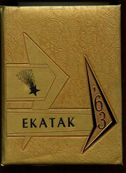 1963 Edition, George Seitz School - Ekatak Yearbook (Kwajalien, Marshall Islands)