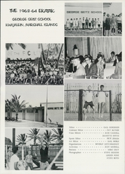 Page 5, 1964 Edition, George Seitz School - Ekatak Yearbook (Kwajalien, Marshall Islands) online yearbook collection