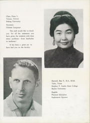 Page 9, 1962 Edition, Jonathan Wainwright High School - Warriors Yearbook (Tainan, Taiwan) online yearbook collection