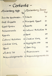 Page 5, 1988 Edition, Muizenberg Junior School - Seagull Yearbook (Cape Town, South Africa) online yearbook collection